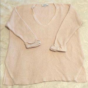 Light Pink Madewell Knit Sweater